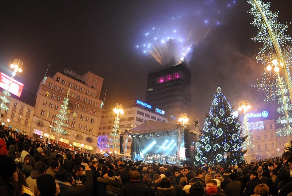 New Year Zagreb