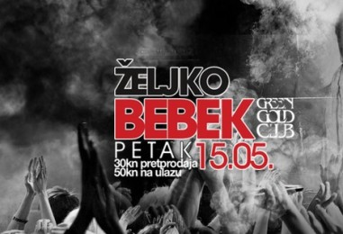 Željko Bebek priprema show u Green Gold clubu