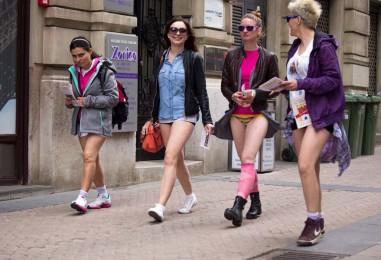 """""""No pants day"""" obilježen u Zagrebu"""