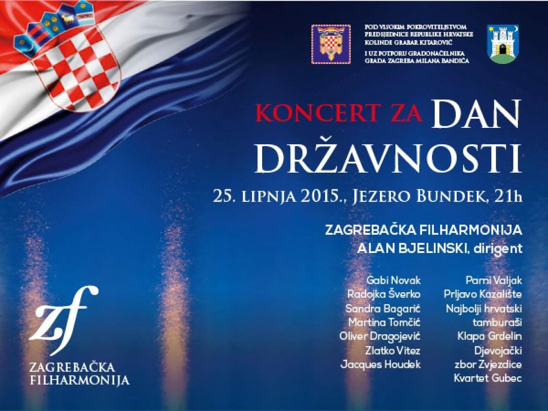 Proslavite Dan državnosti sa Zagrebačkom Filharmonijom na Bundeku