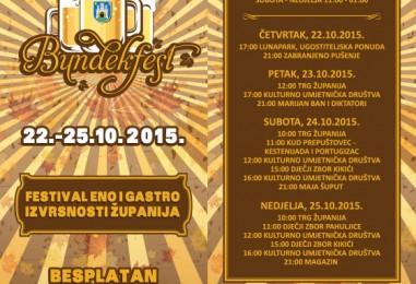 Počinje Bundekfest