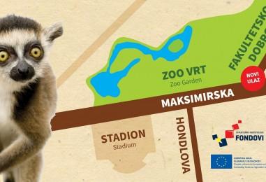 Novi ulaz u Zoo vrt