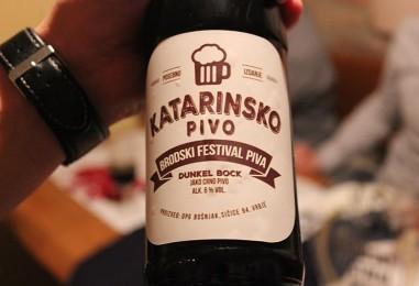 Katarinsko pivo na prvom Brodskom festivalu piva