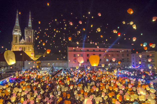 Puštanje Balona Zagreb