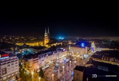 VIDEO: Pogledajte kako izgleda zagrebački Advent iz zraka
