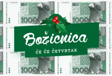 Đir po Zagrebu dijeli božićnice