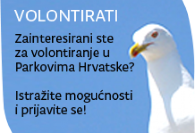 PREDSTAVLJANJE SUSTAVA VOLONTIRANJA: Volontiraj u parkovima Hrvatske!