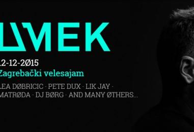 DJ Umek sutra nastupa na prvom WMC u Zagrebu