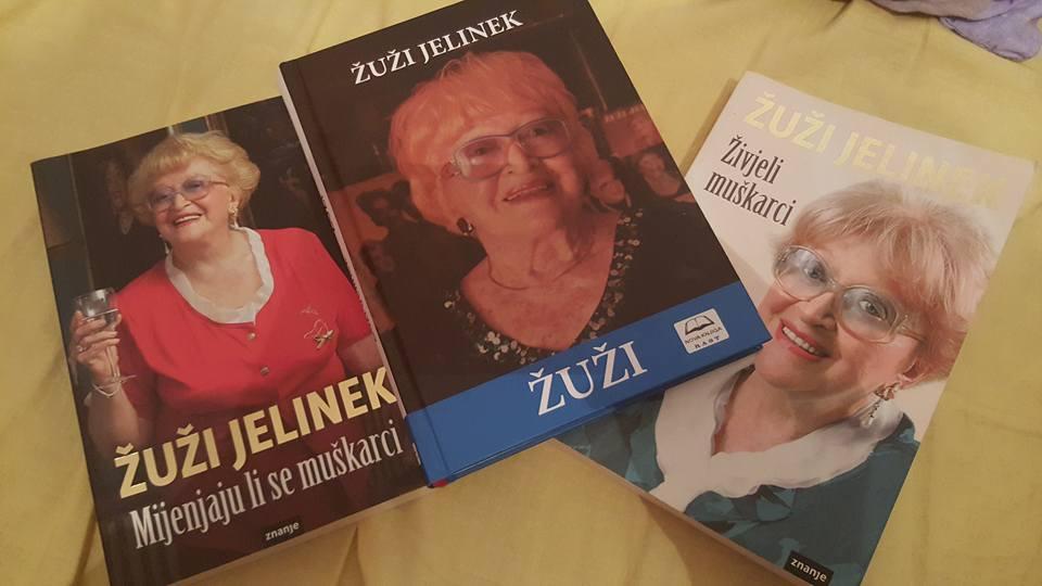 Žuži Jelinek knjige
