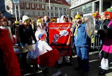 Maškare okupirale centar Zagreba