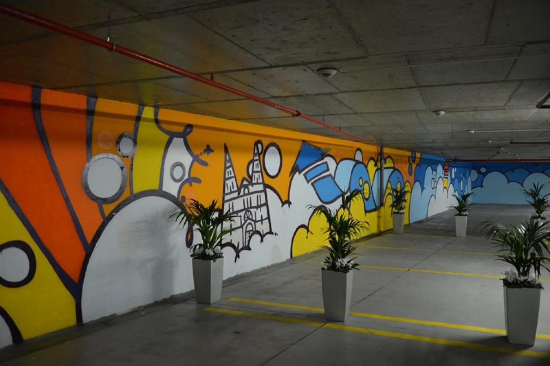 Oslikana garaža Kvatrić