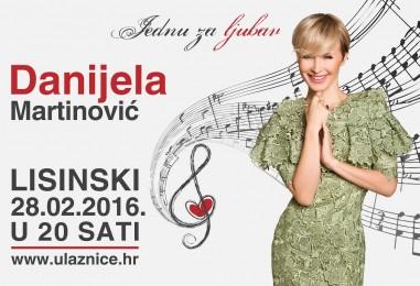 Danijela Martinović nakon 10 godina ponovno u Lisinskom