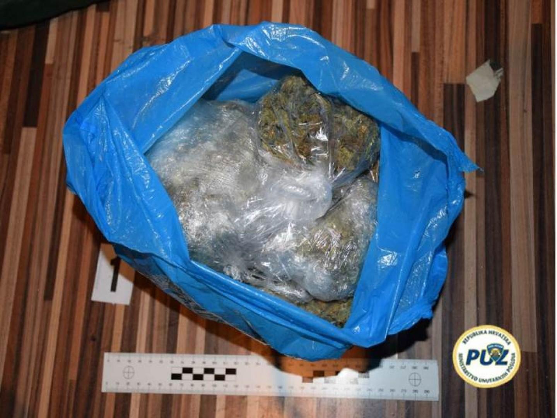 Zaplijenjena droga vrijedna preko 40.000 kuna