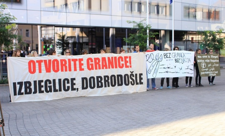 Zagrepčani se pridružili maršu za prava izbjeglica i migranata