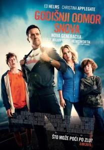 Poster filma 'Vacation' (Godišnji odmor iz snova: Nova generacija)
