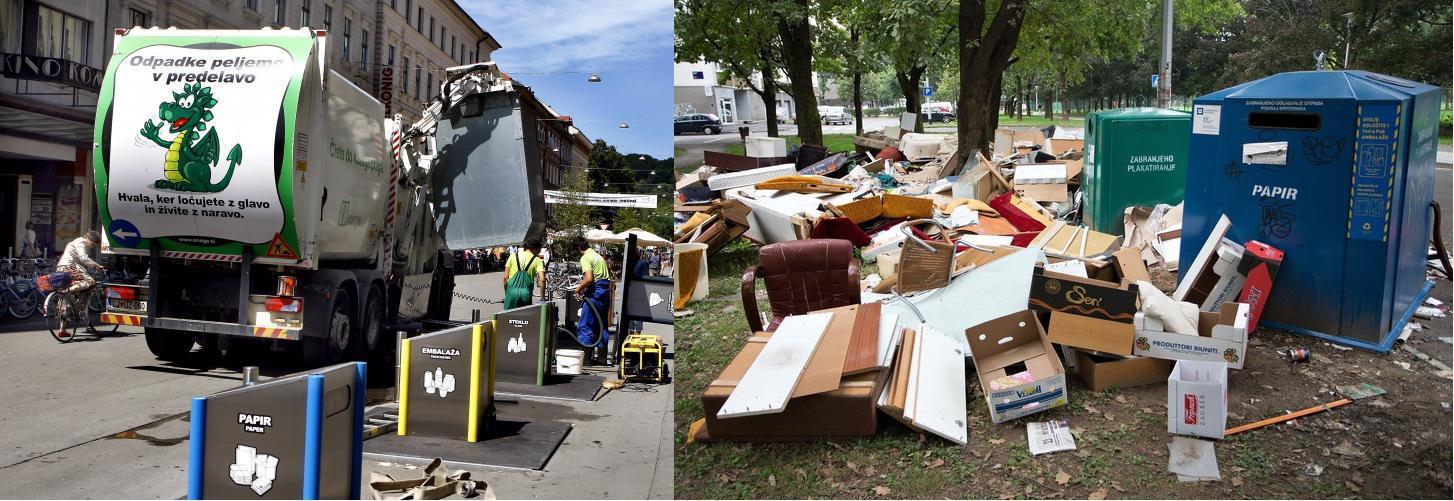 Ljubljana otpad zagreb smeće