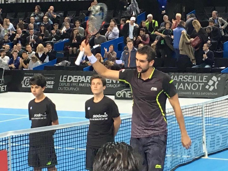 Marin Čilić u polufinalu Marseillea