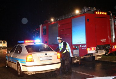 Požar osobnog automobila u Novom Zagrebu