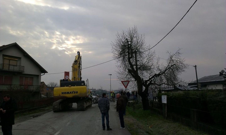 Otvaranje radova na izgradnji sabirnog kanala Ježdovec