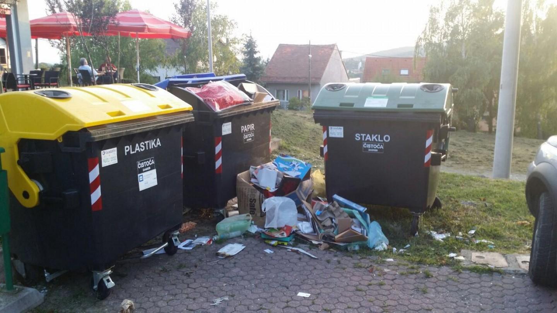 Vandali palili spremnike za otpad u istočnom dijelu Zagreba