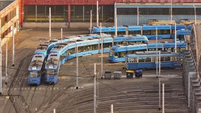 remiza tramvaji