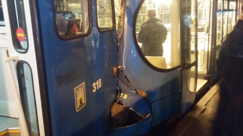 Novi sudar tramvaja u Zagrebu, ima ozlijeđenih