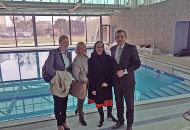 Uskoro otvorenje novog bazenskog kompleksa