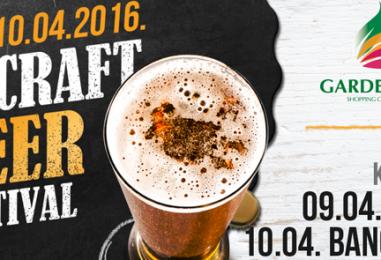 2. Craft Beer Festival u Garden Mallu uz koncerte Vatre i Bang Bang