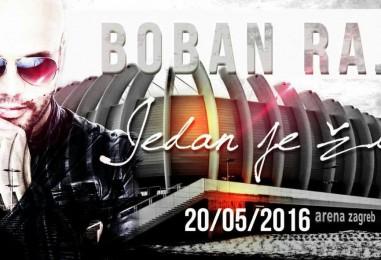 DIJELIMO KARTE: Boban Rajović u zagrebačkoj Areni