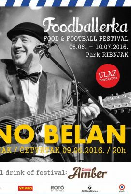 Zagreb otvara EURO 2016 besplatnim koncertom Nene Belana na Ribnjaku