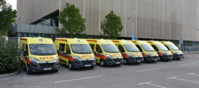 Puštanje u rad novih vozila hitne medicinske pomoći