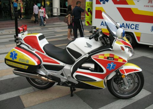 Hitna na motociklima