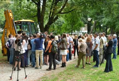 Otvorena prva faza radova na parku Ribnjak