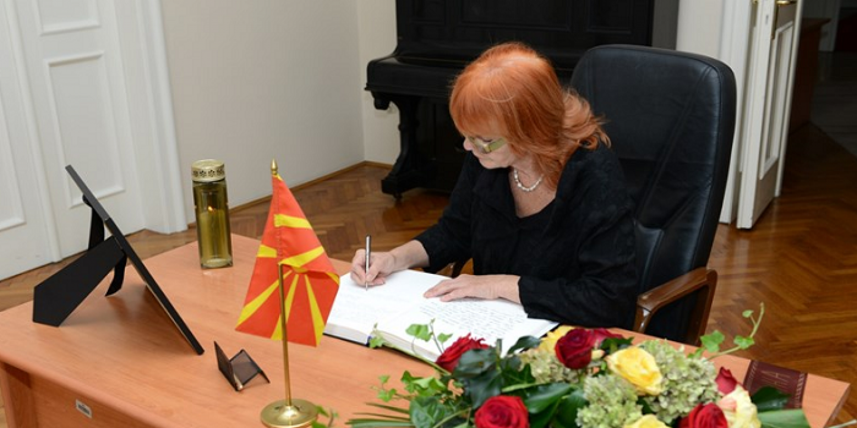 Otvorena Knjiga žalosti u veleposlanstvu Republike Makedonije