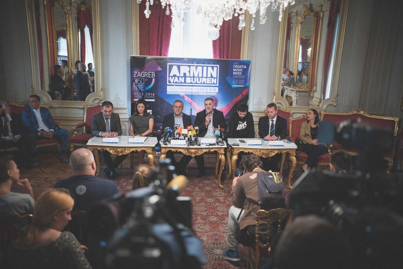 Na zagrebačkom Dočeku 2017. u Areni svira Armin van Buuren