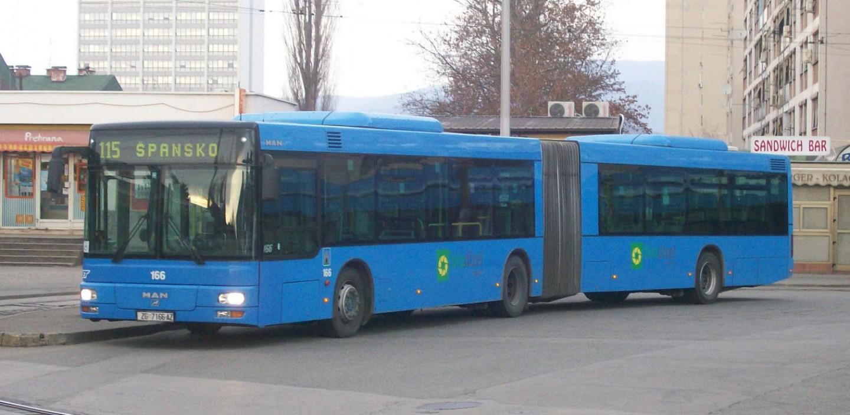 Izmjene u polascima autobusne linije 222