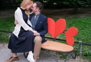 Ljubavni parovi imaju i svoje klupe u Zagrebu