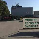 Otvoreno mobilno reciklažno dvorište u gradskoj četvrti Trešnjevka – jug
