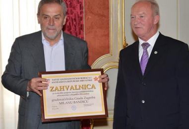 Gradonačelnik Bandić primio Juraja Hrženjaka