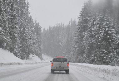 ZIMSKI UVJETI Mnoge ceste zatvorene zbog snijega