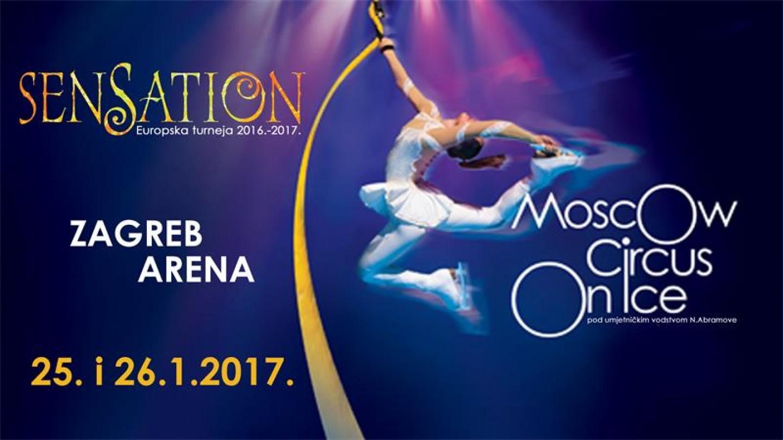Moskovski cirkus na ledu u Areni Zagreb