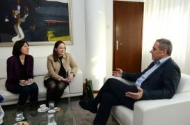 Posjet irske veleposlanice NJ.E. Olive Hempenstall