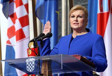 PREDSJEDNICA GRABAR-KITAROVIĆ PO OSMI PUT PREMJEŠTA URED U Požeško-slavonsku županiju