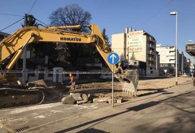 FACEBOOK LIVE Počela je obnova Kranjčevićeve ulice u Zagrebu!