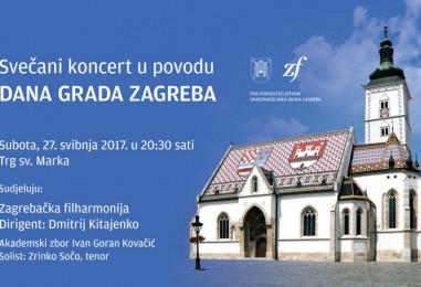 Dan grada Zagreba uz nastup filharmonije