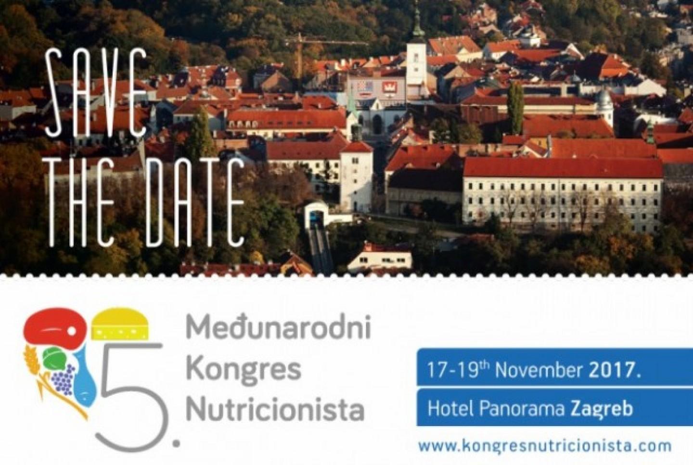 5. Međunarodni Kongres Nutricionista preseljen u Zagreb!
