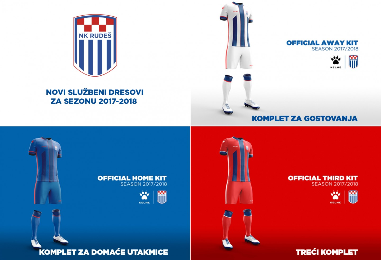 Kelme je novi tehnički sponzor NK Rudeša