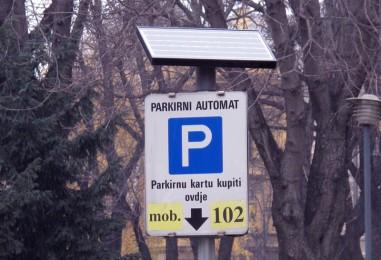Obavijest korisnicima parkirališta u Bednjanskoj ulici