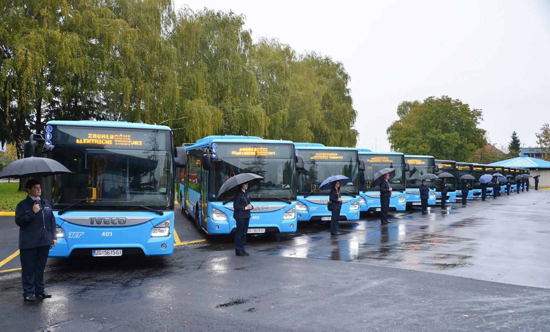 Grad Zagreb dobiva 15 novih autobusa preko EU fondova