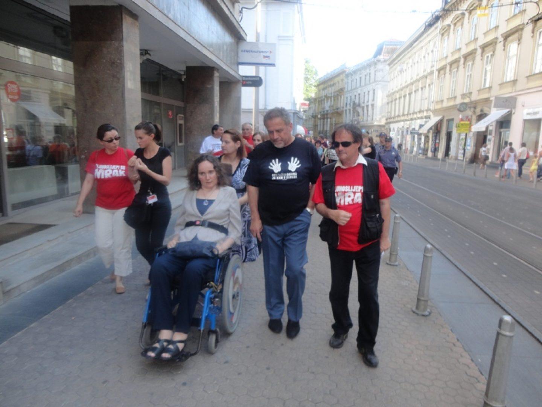 Međunarodni tjedan Hellen Keller – šetnja središtem Zagreba